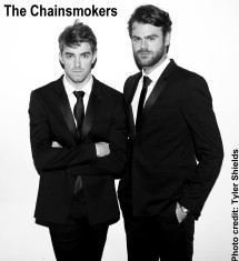 The Chainsmokers - Andrew Taggart and Alex Pall