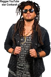 Conkarah Reggae YouTube star