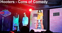 Cons of Comedy - Hooters