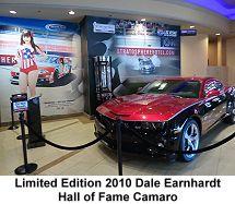 Dale Earnhardt limited edition 2010 hall of fame Camaro