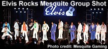 Elvis Rocks Mesquite group shot
