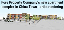 Fore Property apartment complex China Town