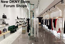 Forum Shops new DKNY Store