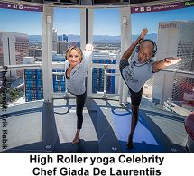 Giada de Laurentiis High Roller yoga