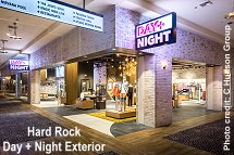 Hard Rock Day and Night exterior