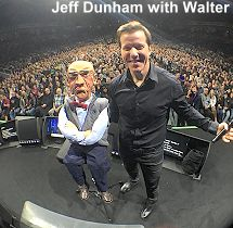 Jeff Dunham with Walter