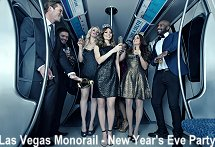 Las Vegas Monorail New Years Eve Party 2016