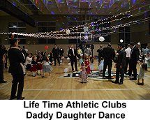 Life Time Athletic Clubs Daddy Daughter Dance
