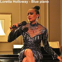 Loretta Holloway - Blue Piano