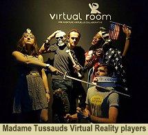 Madame Tussauds Virtual Reality Players