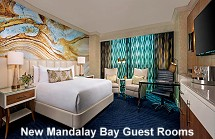 Mandalay Bay new guest room design