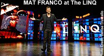 Mat Franco at The LINQ