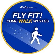 McCarran Fly Fit logo