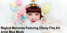 Miss Mindy - Magical Memories Disney - fine art