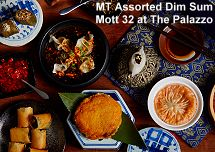 Mott 32 at The Palazzo assorted dim sum