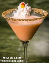 MRKT Sea and Land pumpkin spice martini