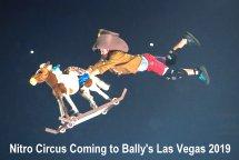 Nitro Circus Bally's Las Vegas coming 2019