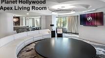 Planet Hollywood - Apex living room