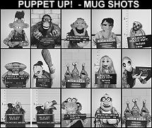 Puppet Up! mug shots
