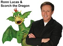 Ronn Lucas and Scorch the Dragon