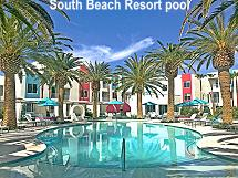 South Beach Resort pool