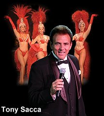 Tony Sacca with Showgirls