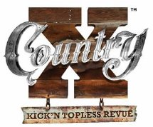 'X' Country show logo